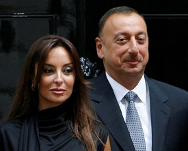 Azerbaijan president just made his socialite wife the first vice-president of the country