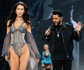 Bella Hadid flashes her breast following wardrobe malfunction