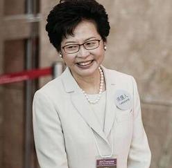 Hong Kong chooses first woman head