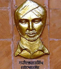 Security sought to mark Bhagat Singh's anniversary