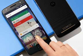 Moto Z (2017) makes an appearance at Sprint's Gigabit LTE event; key design language revealed