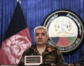 Afghan defence chief quits over attack, as Mattis flies in