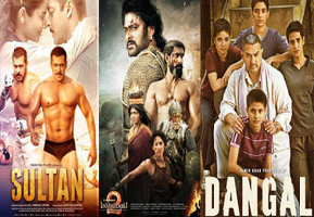 Baahubali 2 First Day Collections Breaks Records of Sultan, Dangal