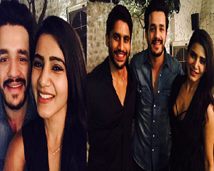 Selfie Time: Akhil With Samantha