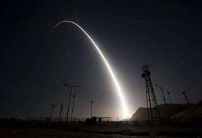 US Air Force tests unarmed ICBM