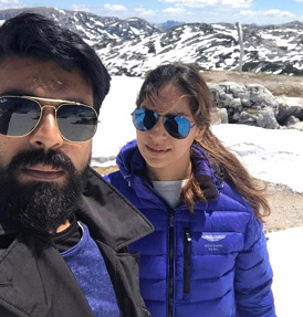 Pic Talk: Mega Selfie at Mountain Top