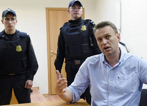 Kremlin critic Alexei Navalny detained as supporters protest across Russia
