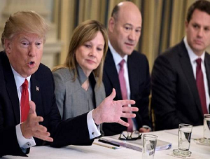 Trump Disbands Two Business Councils