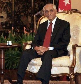 Indian-Origin J.Y. Pillay Appointed Singapore's Acting President