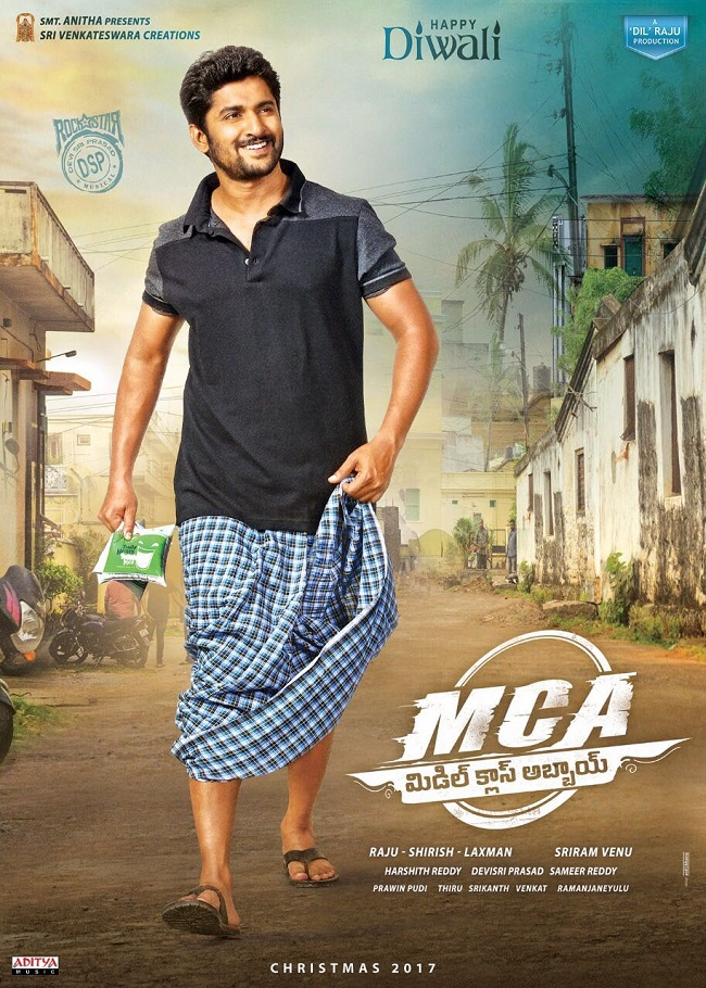 First Look: Nani Nails Middle Class Look   teluguz.com Horns Movie Poster