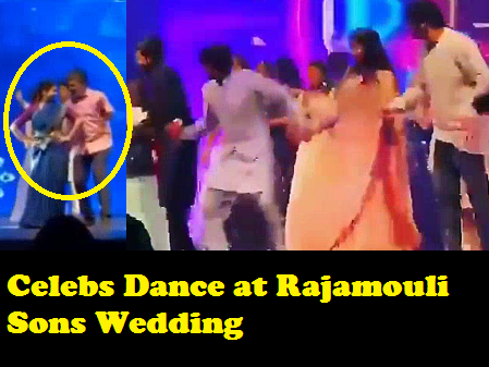 Rajamouli , Ramcharan, Jr NTR, Prabhas , Anushka Dance video at Sangeeth Funtion