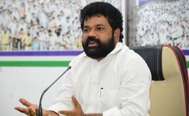 YSRCP MP Nandigam Suresh pressmeet from party central office