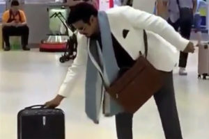 Watch: Balayya's Funny Acts In Airport