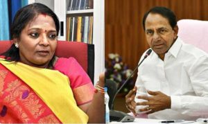 Are TRS, BJP fighting a 'fake political battle'?