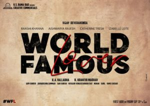 Title poster: VD's 'World Famous Lover'