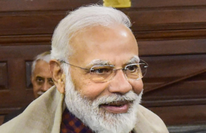 My face glows because..: Modi