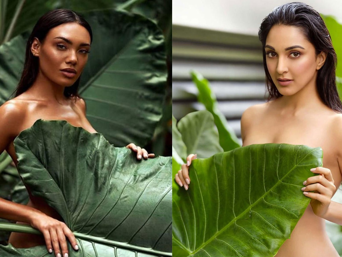 Viral : Kiara Hots pics is copy of Marie Barsch's Shoot