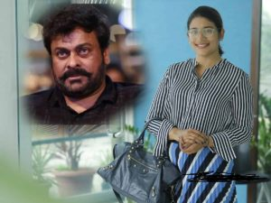 Sushmitha to direct Chiru's first ever web series?