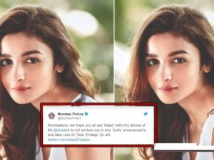 Mumbai Police' Tweets To Bolly Actors Are Superb!