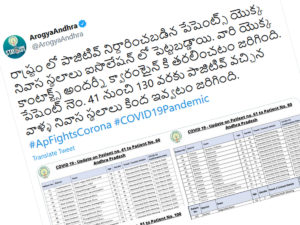 Andhra Pradesh's Health Bulletin Gets Appreciation From All Quarters