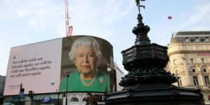 Queen of England vows 'COVID-19 won't overcome us' in Easter message