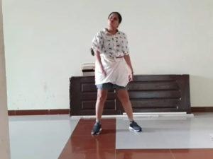 Character Artist Pragathi's Lungi Dance Goes Viral