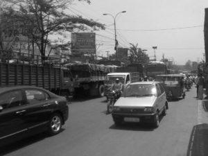 Lockdown Breach: Huge Traffic from Kukatpally to Erragadda