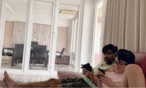 Pic Talk: Son Busy, Ravi Teja Gives Serious Look