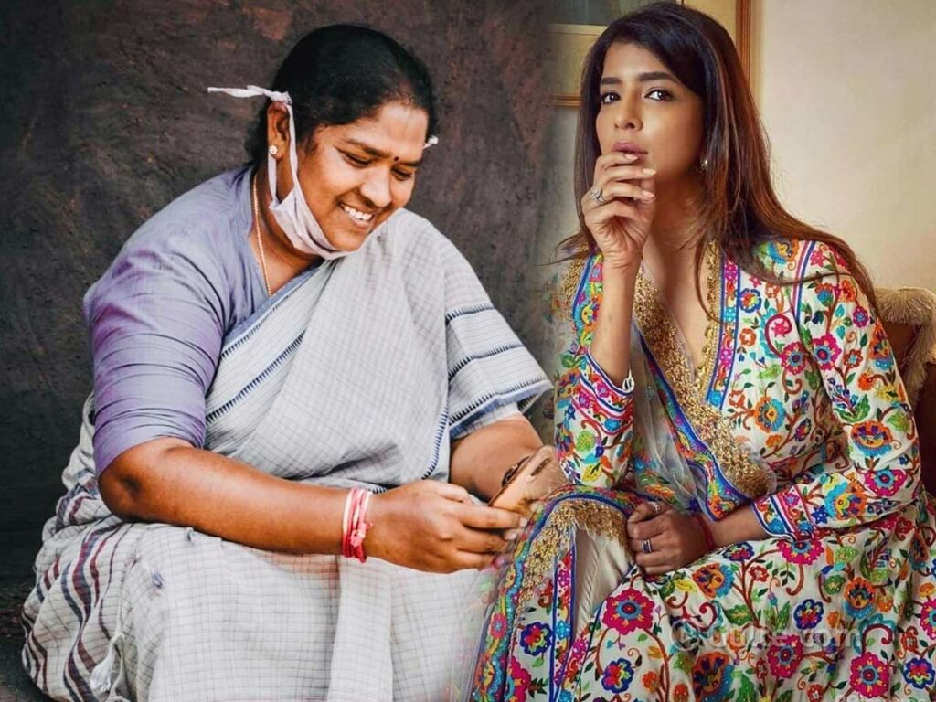 Manchu Lakshmi's Sweet Surprise To Seethakka