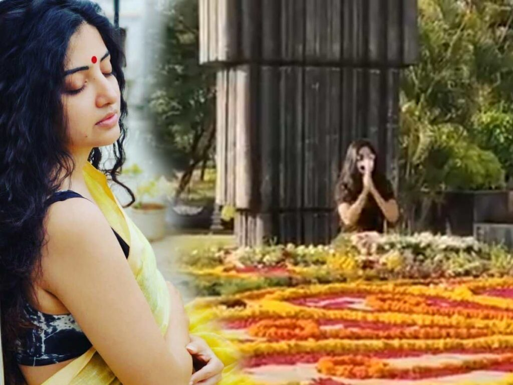Poonam Kaur At NTR Ghat! Who Is That Evil?