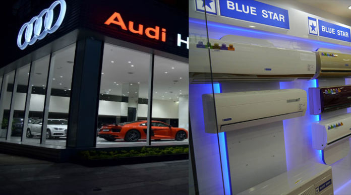 State government permits automobile and AC showrooms' operations from today