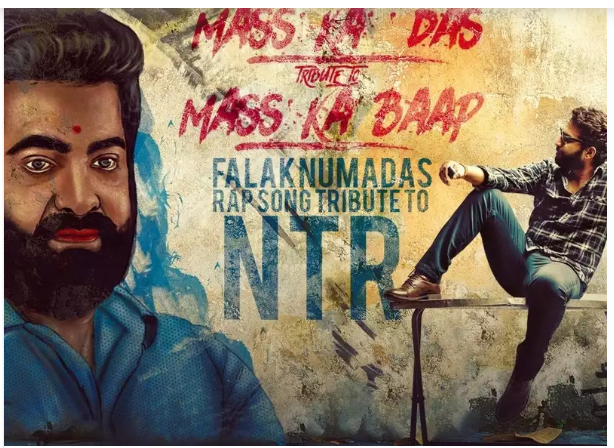 Viswak Sen to release a rap song dedicated to Jr. NTR on his birthday