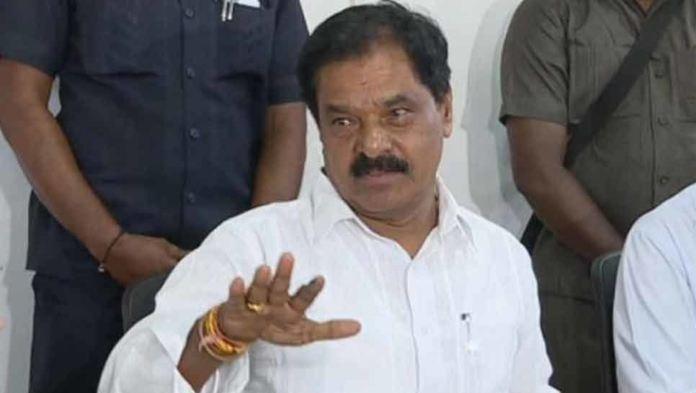 AP Deputy CM Narayana swamy throws a challenge to Chandrababu