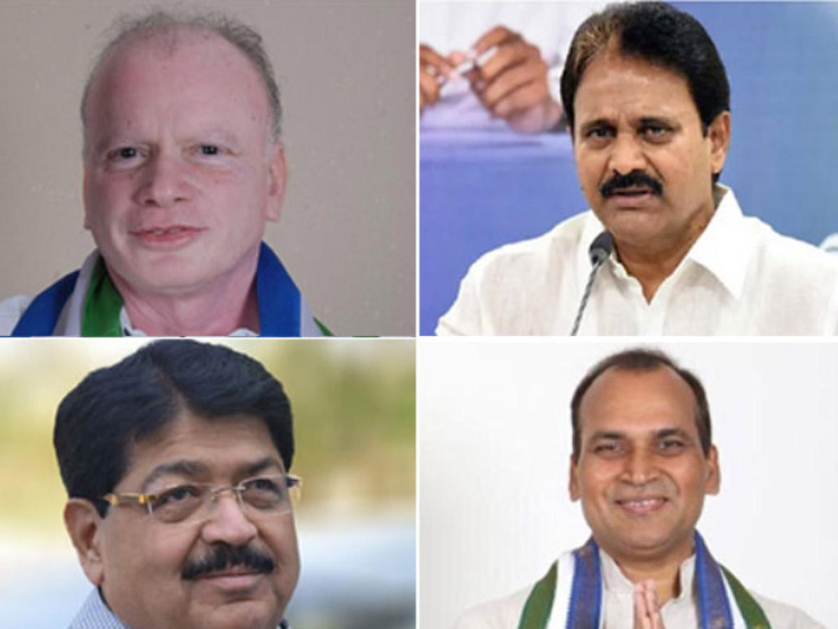 Rajya Sabha Poll: YCP Clean Sweeps