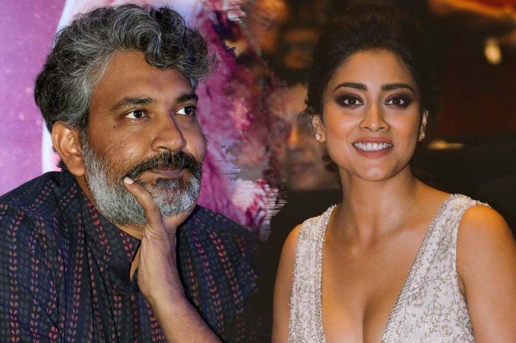 Is Rajamouli Upset With Shriya?