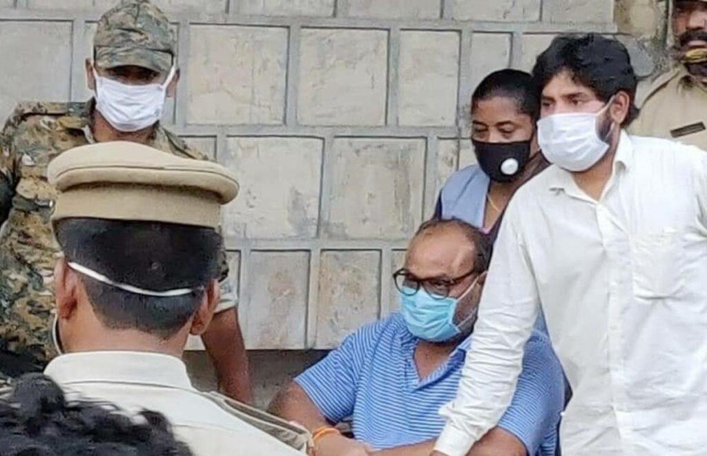 Atachannaidu Discharged, Sent To Sub-Jail