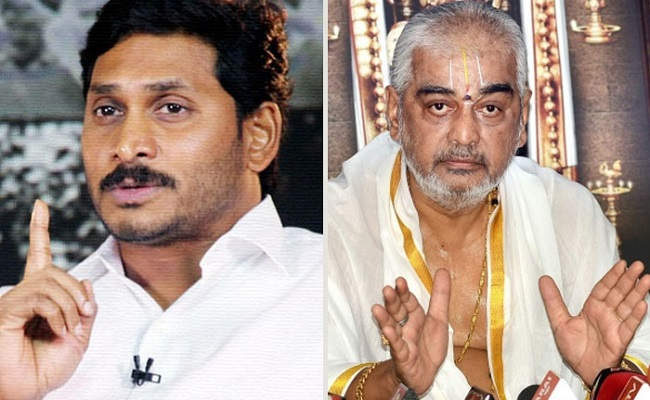 Jagan Angry With Ramana Deekshitulu?