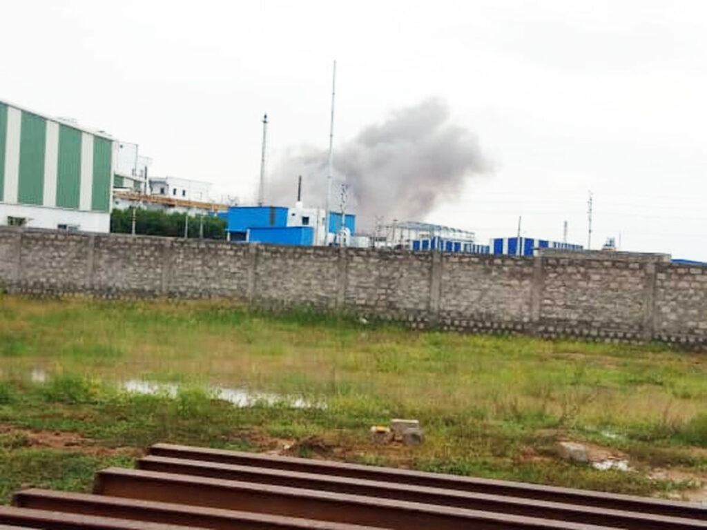 Another Explosion At A Pharma Firm Scares Vizagites