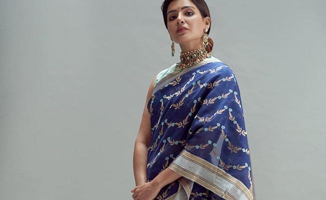 Pic Talk: Samantha's Gorgeous Handloom Look