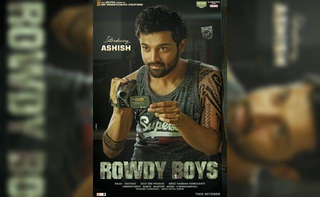 Dil Raju's nephew Ashish debuts as Rowdy Boy