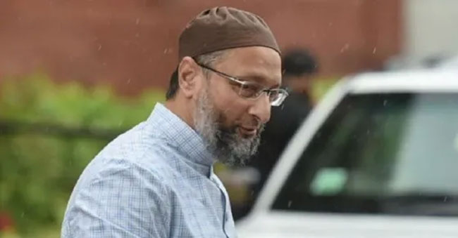 Amid Owaisi's Visit To Up, Aimim Was Asked To Remove Flexies!
