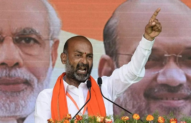 KCR's remarks on paddy cultivation led to five suicides: Telangana BJP chief Bandi Sanjay Kumar