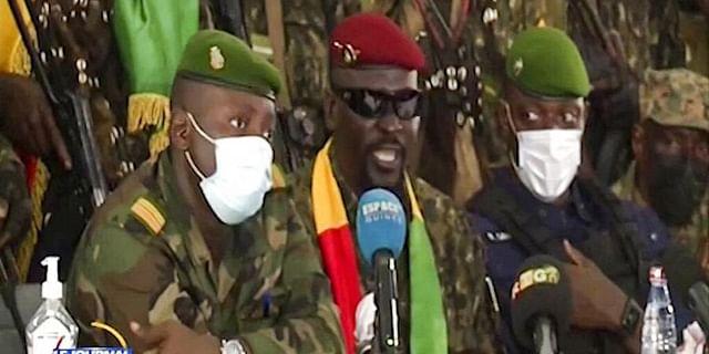 Military junta opens talks over Guinea's future post-coup