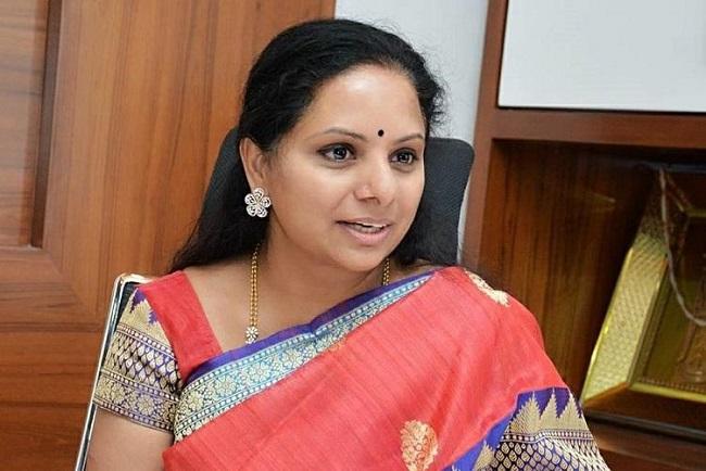 Is Kavitha Kalwakuntla asserting herself within TRS?