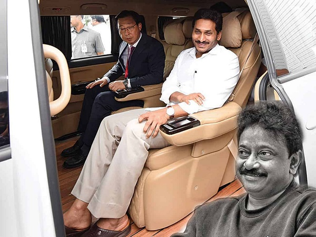 RGV talks highly about YS Jagan's way of dressing
