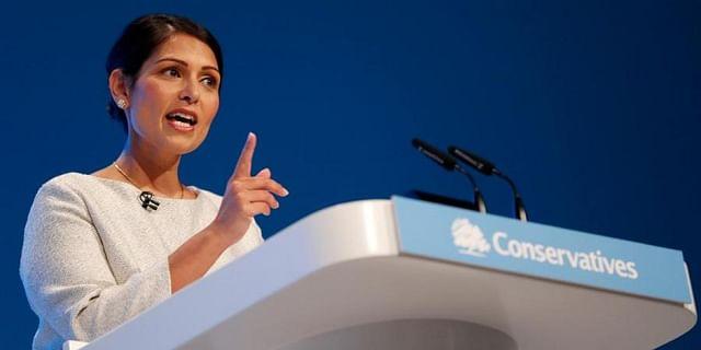 UK minister Priti Patel cracks down on crime, disruptive protests