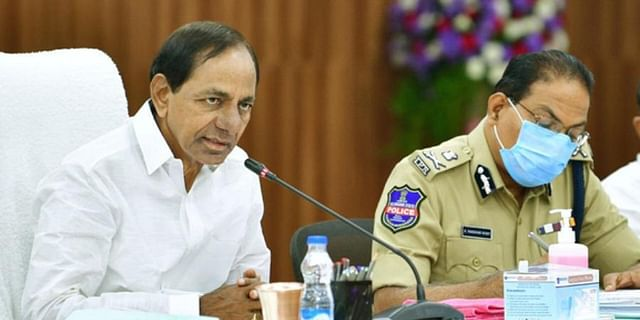 KCR asks officials to declare war on drugs