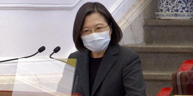 'Island will not bow to China': Taiwan President Tsai Ing-wen