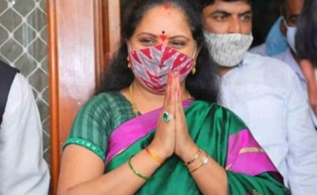 Kavitha's absence from TRS plenary raises suspicions